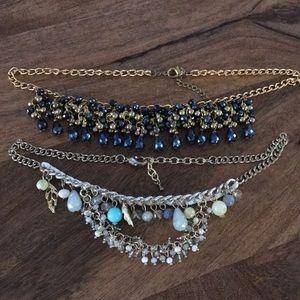 2 statement necklaces!